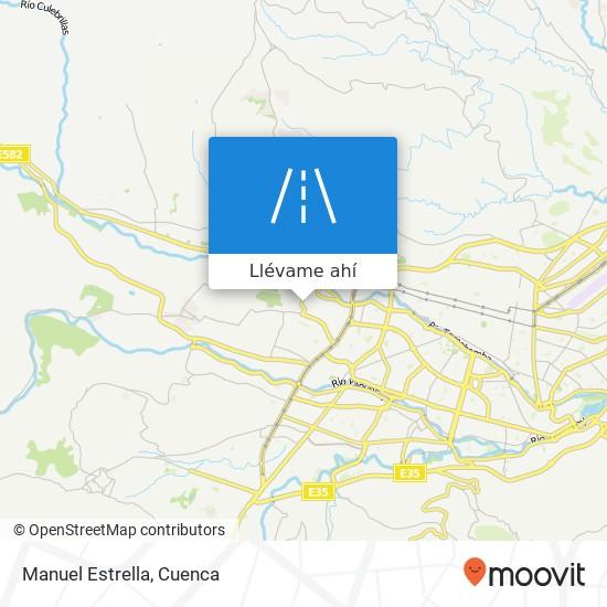 Mapa de Manuel Estrella