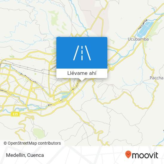 Mapa de Medellín