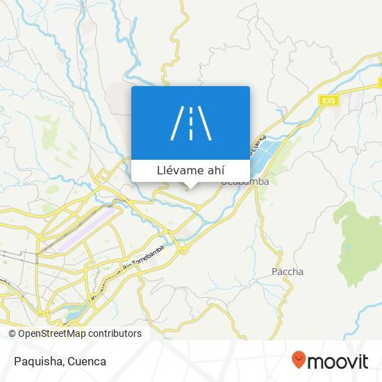 Mapa de Paquisha