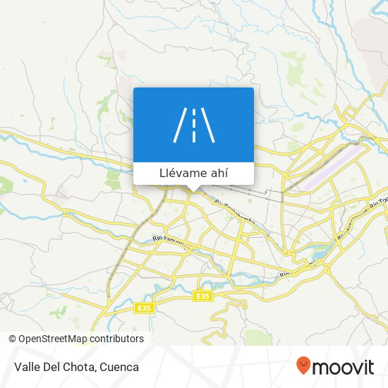 Mapa de Valle Del Chota