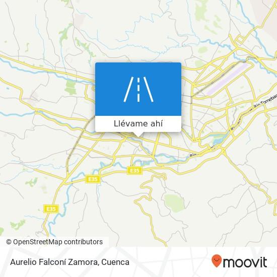 Mapa de Aurelio Falconí Zamora