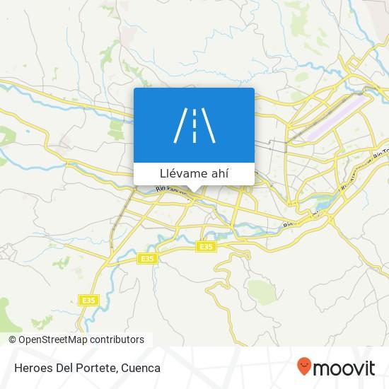 Mapa de Heroes Del Portete