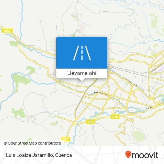 Mapa de Luis Loaiza Jaramillo