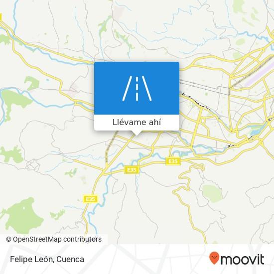 Mapa de Felipe León
