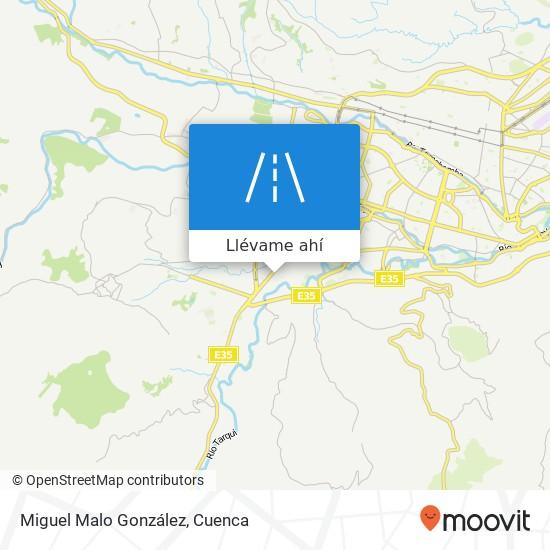 Mapa de Miguel Malo González