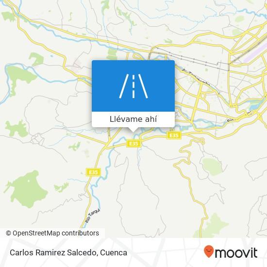 Mapa de Carlos Ramirez Salcedo
