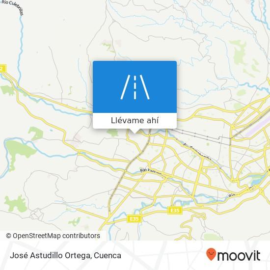Mapa de José Astudillo Ortega