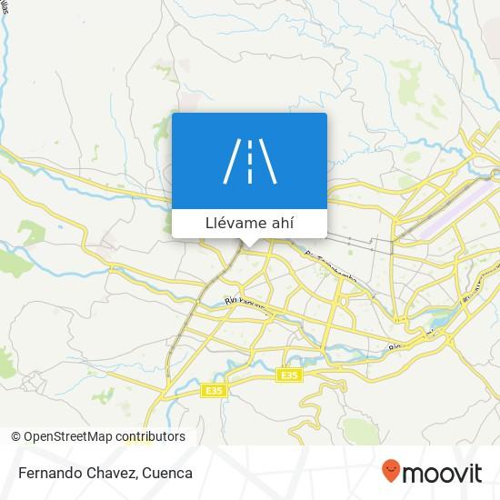 Mapa de Fernando Chavez