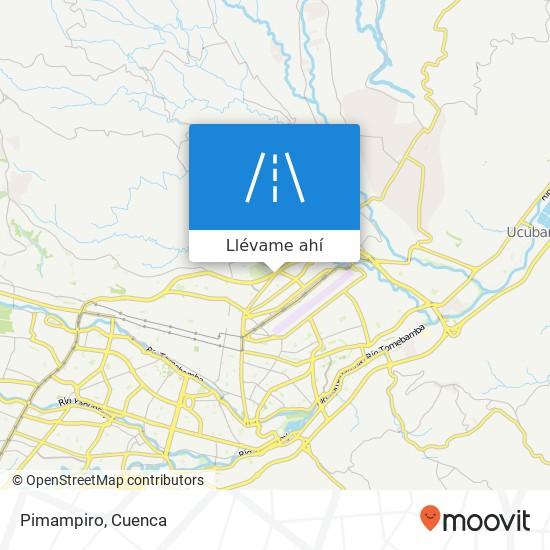 Mapa de Pimampiro
