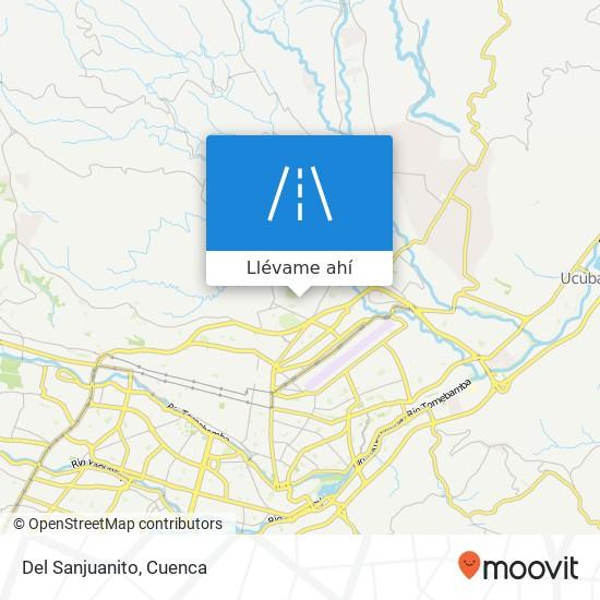 Mapa de Del Sanjuanito
