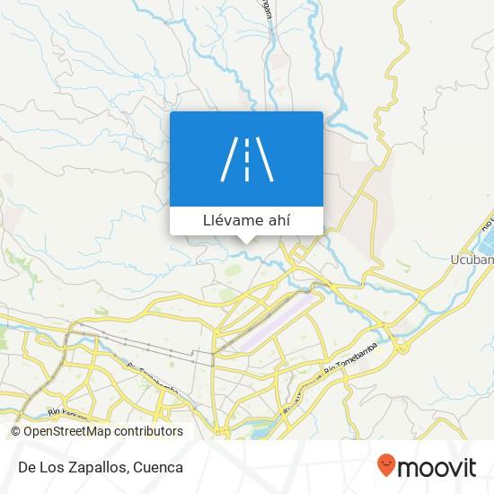 Mapa de De Los Zapallos