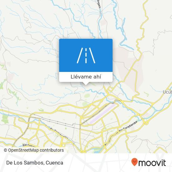 Mapa de De Los Sambos