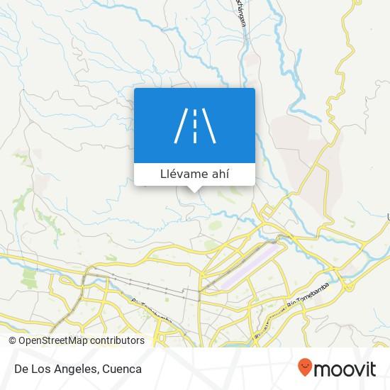 Mapa de De Los Angeles