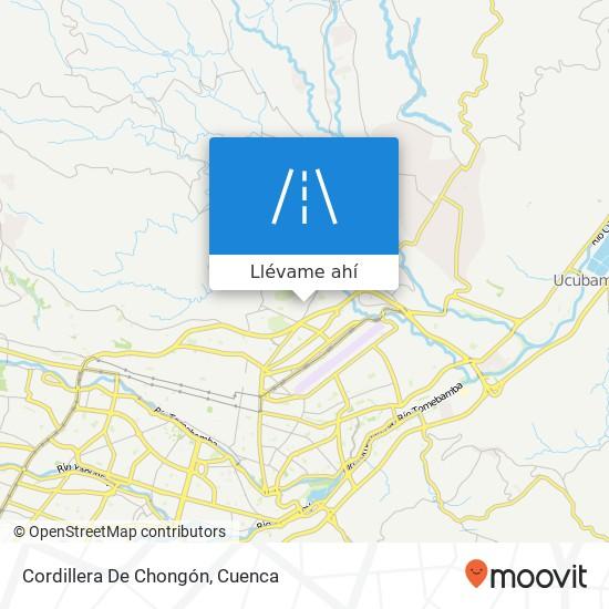 Mapa de Cordillera De Chongón
