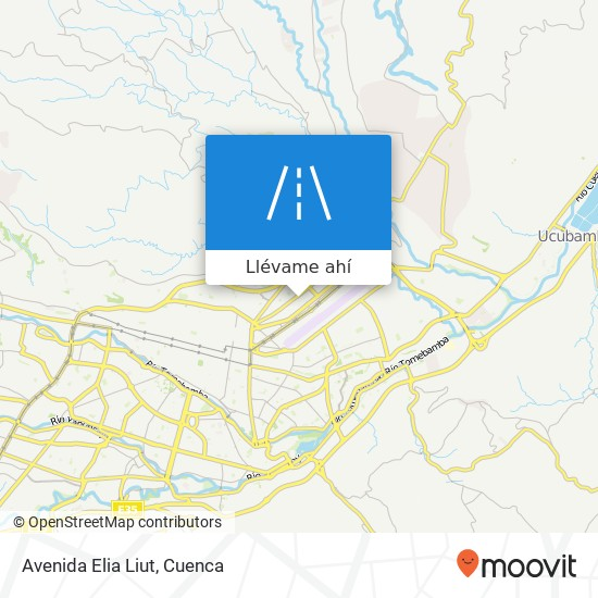 Mapa de Avenida Elia Liut