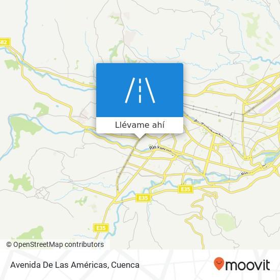 Mapa de Avenida De Las Américas