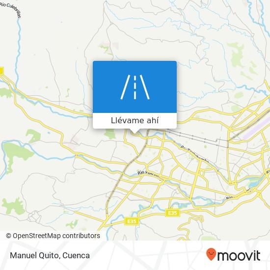 Mapa de Manuel Quito