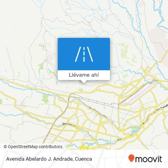 Mapa de Avenida Abelardo J. Andrade