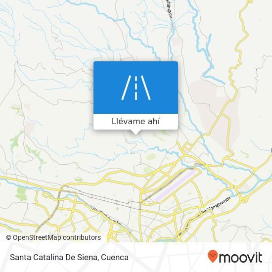 Mapa de Santa Catalina De Siena