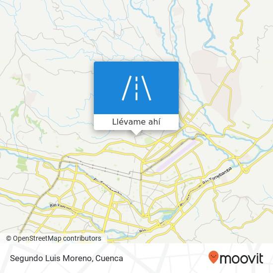 Mapa de Segundo Luis Moreno