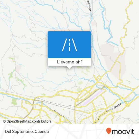 Mapa de Del Septenario