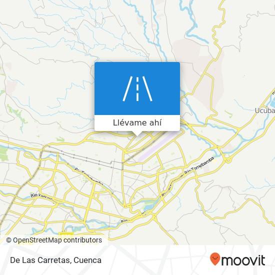 Mapa de De Las Carretas
