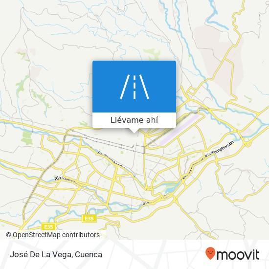 Mapa de José De La Vega