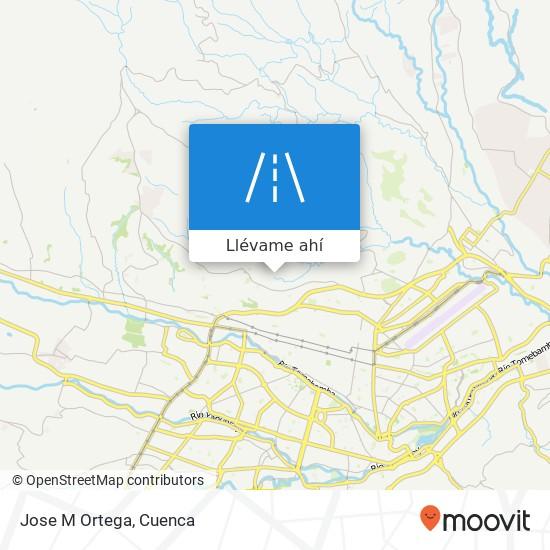 Mapa de Jose M Ortega