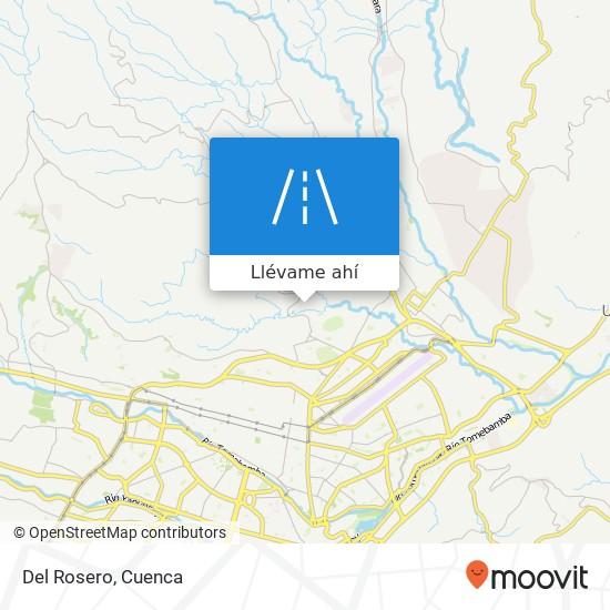 Mapa de Del Rosero