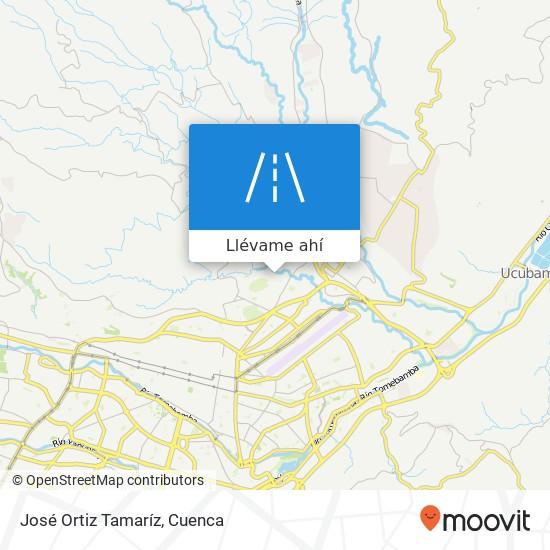 Mapa de José Ortiz Tamaríz