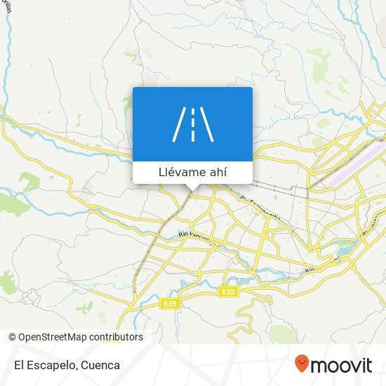 Mapa de El Escapelo