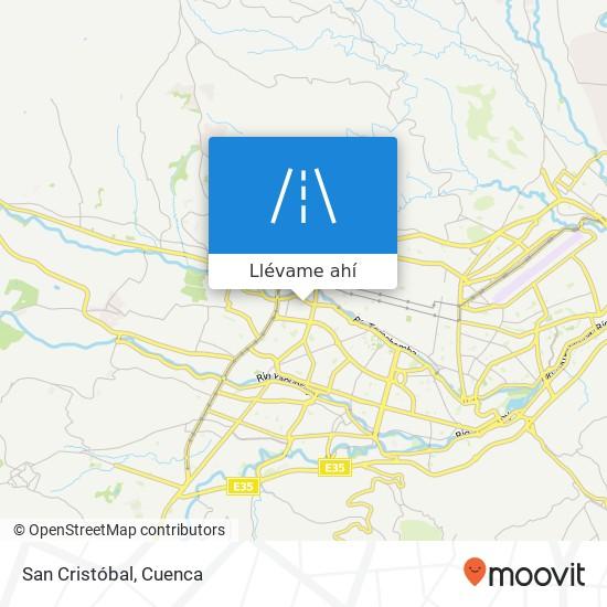Mapa de San Cristóbal
