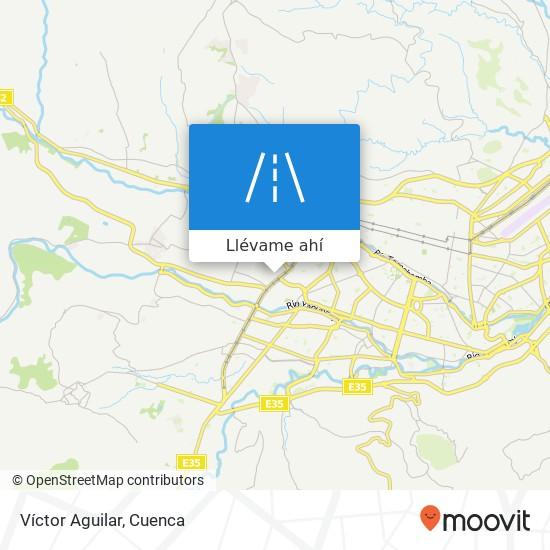 Mapa de Víctor Aguilar