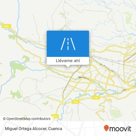 Mapa de Miguel Ortega Alcocer