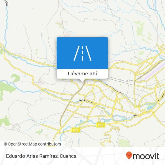 Mapa de Eduardo Arias Ramírez