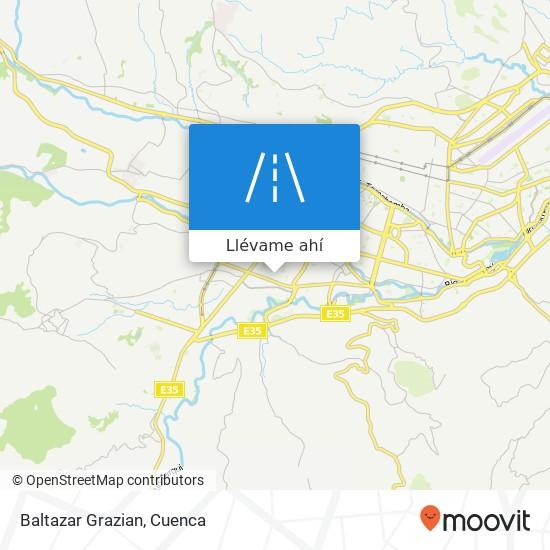 Mapa de Baltazar Grazian
