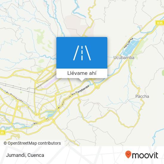 Mapa de Jumandi