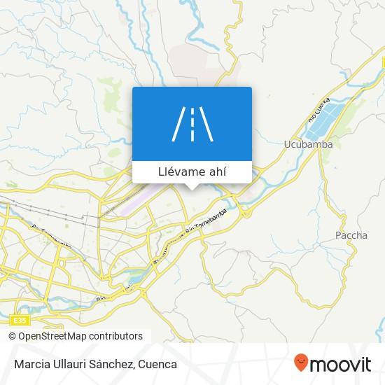 Mapa de Marcia Ullauri Sánchez
