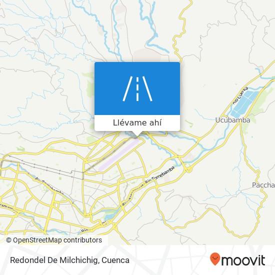 Mapa de Redondel De Milchichig