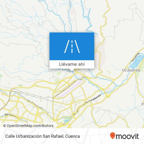 Mapa de Calle Urbanización San Rafael