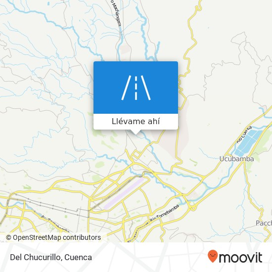 Mapa de Del Chucurillo