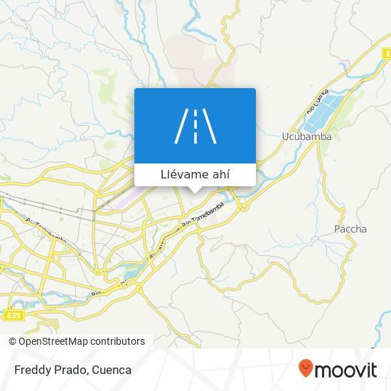 Mapa de Freddy Prado