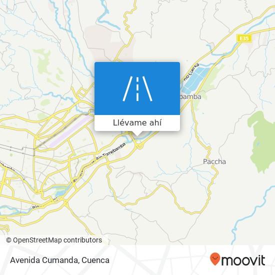 Mapa de Avenida Cumanda
