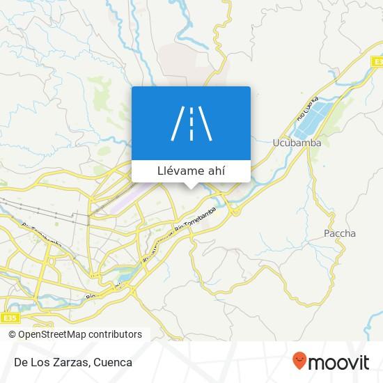 Mapa de De Los Zarzas