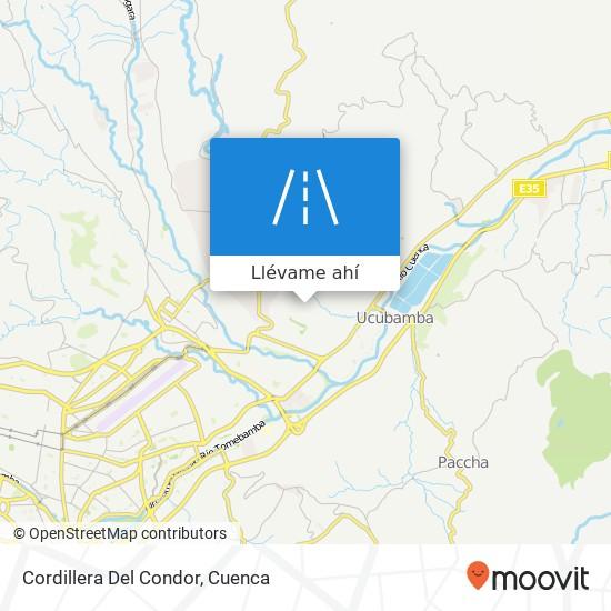 Mapa de Cordillera Del Condor