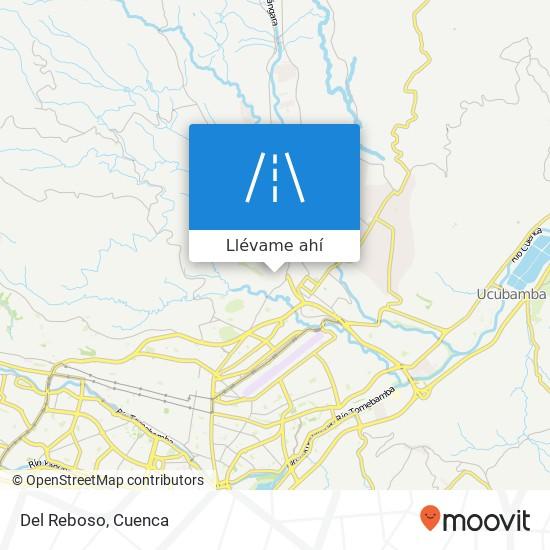 Mapa de Del Reboso