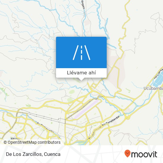 Mapa de De Los Zarcillos