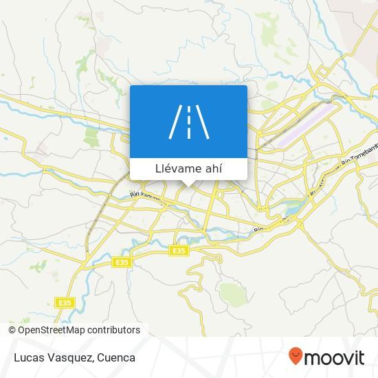 Mapa de Lucas Vasquez