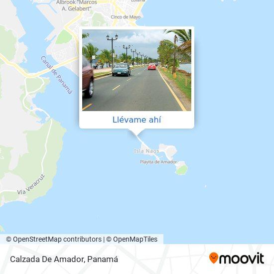Mapa de Calzada De Amador