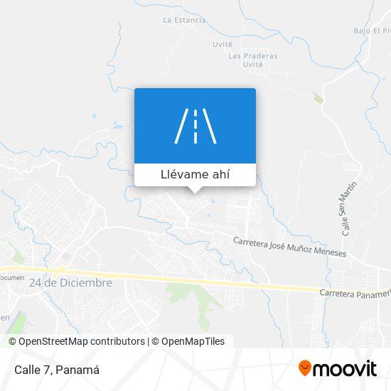 Mapa de Calle 7